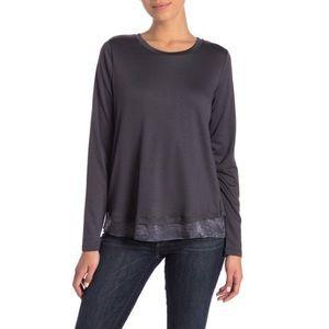 Free spirited Bohemian Bobeau long sleeve blouse